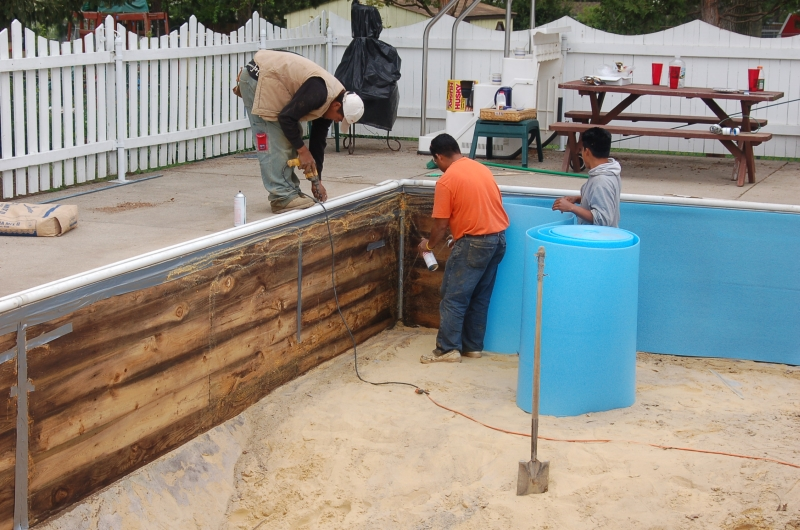 Foam Padding Mid State Pool Liners