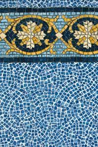 Pattern Tudor Tile Cobblestone Mid State Pool Liners