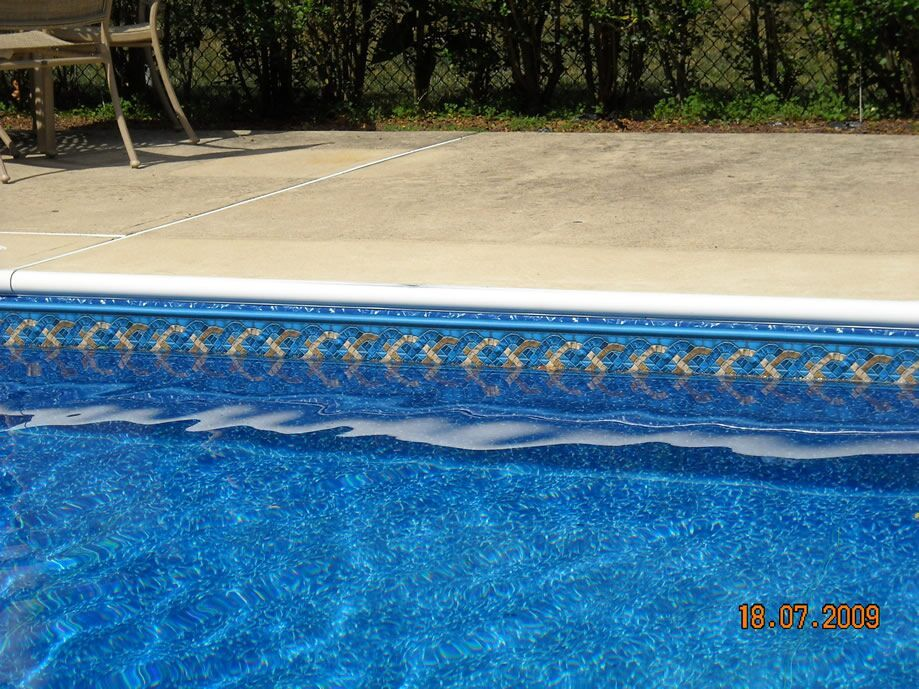 Pattern Cambridge Tile Reflections Mid State Pool Liners